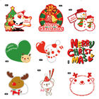 Christmas Theme Gifts Self Adhesive Sticky Labels Custom Adhesive Labels