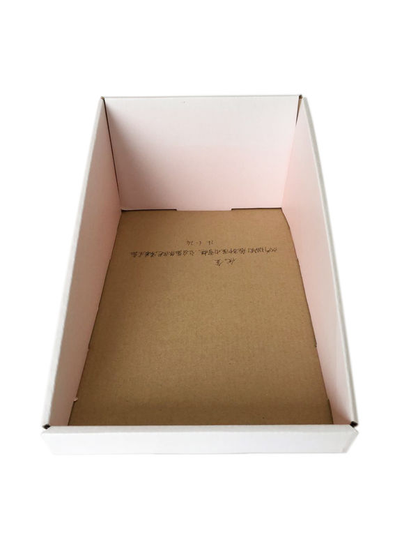 Disposable Matte Lamination Pop Display Boxes Corrugate Food Packaging Box